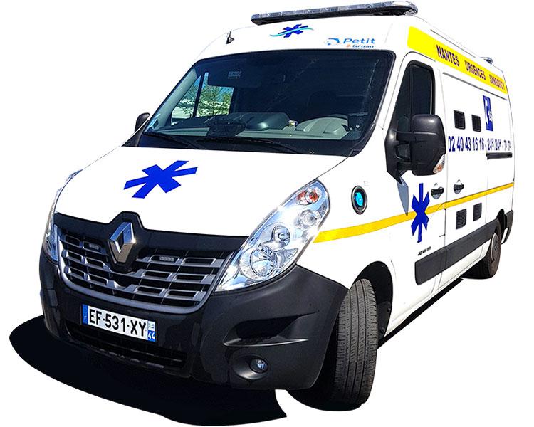 Service d'Ambulance en Loire-Atlantique (44)
